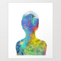 Ocean Thoughts Art Print