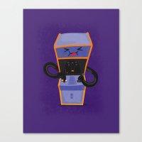 Mode Arcade Canvas Print