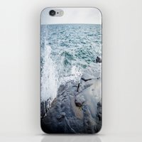 Rough Waters- Color  iPhone & iPod Skin