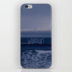 Wanderlust Ocean iPhone & iPod Skin