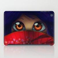 Hiding.  iPad Case