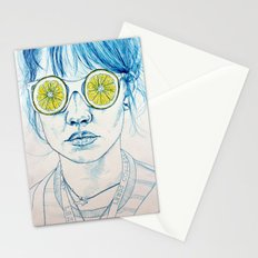 Lemon Lady Stationery Cards