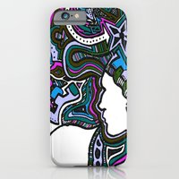iPhone & iPod Case featuring Purple Techno by Madison R. Leavelle