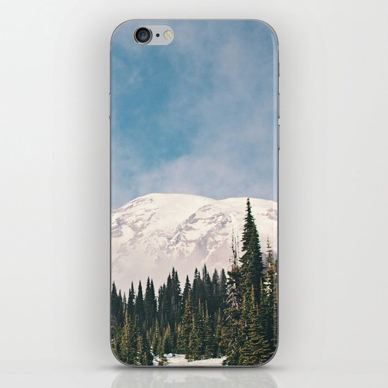 Mount Rainier in the Winter iPhone & iPod Skin
