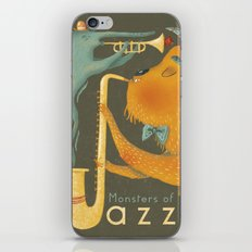 Monsters of Jazz iPhone & iPod Skin