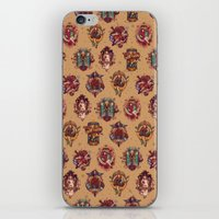 All Those Bright and Shining Companions iPhone & iPod Skin