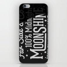 Midnight Moonshine iPhone & iPod Skin