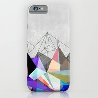 iPhone Cases featuring Colorflash 3 by Mareike Böhmer Graphics