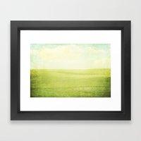 Prairie Summer Framed Art Print
