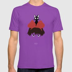 Kiki, 1989 Mens Fitted Tee Ultraviolet SMALL