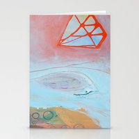 Crystalization Stationery Cards