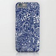 iPhone & iPod Case featuring Detailed Floral Pattern … by Micklyn