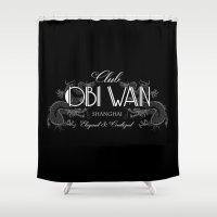 Club Obi Wan Shower Curtain