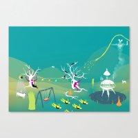 Paisaje63  Canvas Print