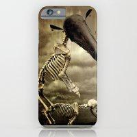 iPhone & iPod Case featuring Pet Skeleton by Teodoru Badiu