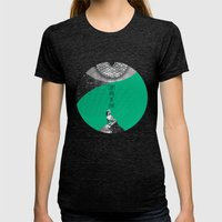 Can't buy me Love (Rocking Love series) Womens Fitted Tee Tri-Black SMALL