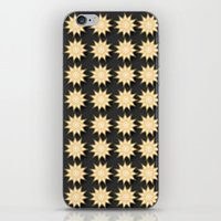 Geoflower iPhone & iPod Skin