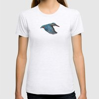 Terror From Above Womens Fitted Tee Ash Grey SMALL