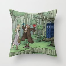Visions are Seldom all They Seem Throw Pillow