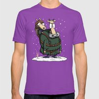 Bran's Modern Life Mens Fitted Tee Ultraviolet SMALL