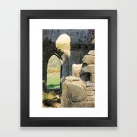 Tower Ruins Framed Art Print