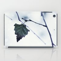 The last leaf iPad Case