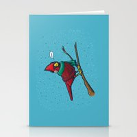 Annoyed IL Birds: The Ca… Stationery Cards