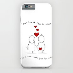 Hold My Hand  iPhone 6s Slim Case