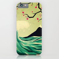 water iPhone & iPod Cases featuring falling in love by Yetiland