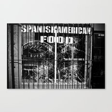 American Business Canvas Print