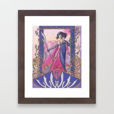 Princess Saturn Framed Art Print