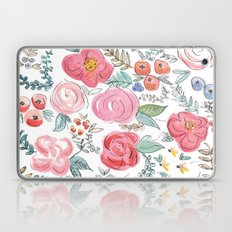 Watercolor Floral Print Laptop & iPad Skin