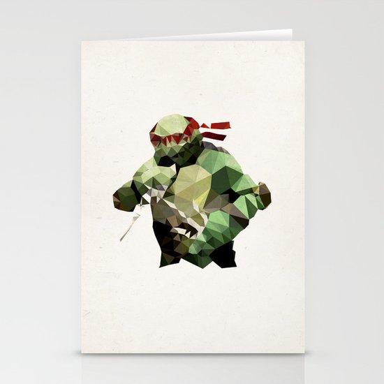 Polygon Heroes - Raphael Stationery Card