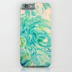 marbling twirl Slim Case iPhone 6s