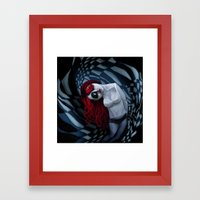 The Dark Side Of My Mind… Framed Art Print