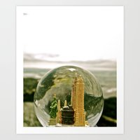 Art Print featuring New York by the Sea by morningowl