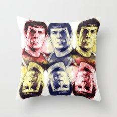leonardRyB Throw Pillow