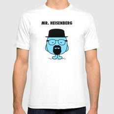 Heisenberg Mens Fitted Tee SMALL White
