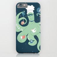 The Octopus Chef iPhone 6 Slim Case