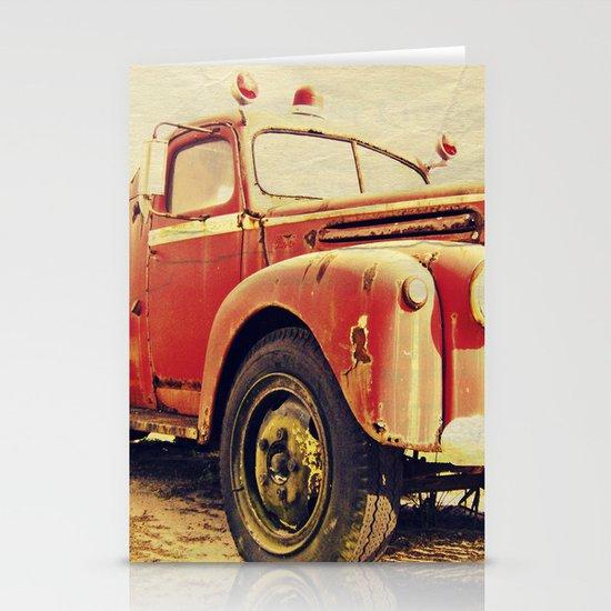 Full Truck Heroes Never Die.  Stationery Card