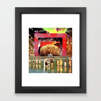 »»mc2«« Framed Art Print
