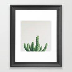 Green Fingers Framed Art Print