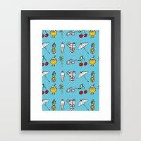 Summer! Framed Art Print