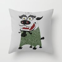 Shishi 獅 Throw Pillow