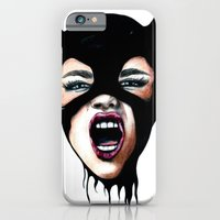 iPhone Cases featuring Scream by Bella Harris
