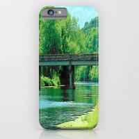 iPhone Cases featuring Peaceful Escape by J&C Creations