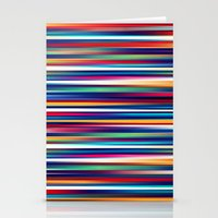 Blurry Lines Stationery Cards