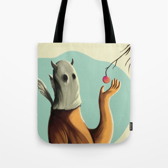 Collecting the fruit Tote Bag
