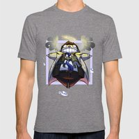 Team Free Will Mens Fitted Tee Tri-Grey SMALL