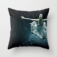 Abyss Of The Disheartene… Throw Pillow